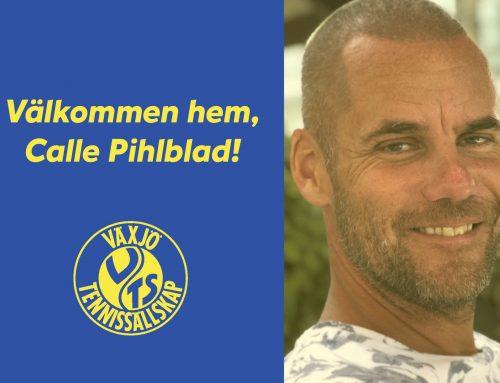 Calle Pihlblad ny sportchef i Växjö TS