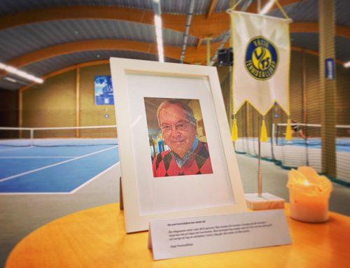 Sorg i Strandbjörkshallen, ett stort tennishjärta har slutat slå
