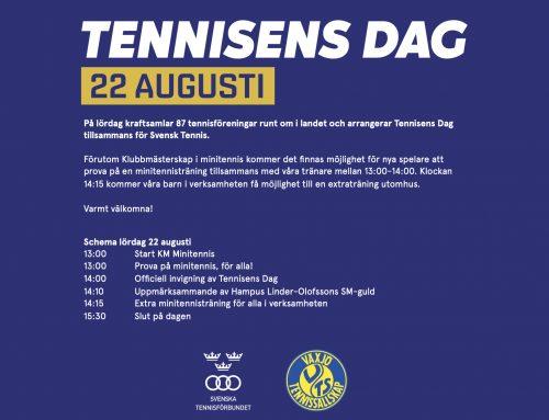 Välkomna till Tennisens Dag!