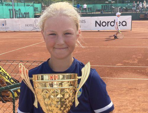 Agnes vinnare i klassiska Båstadtennis!