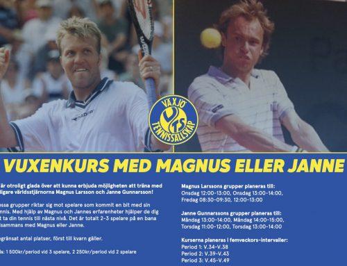 Nu kan du anmäla dig till Magnus och Jannes vuxenkurs!